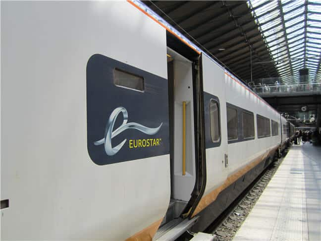 Eurostar Train - The Chunnel - London to Paris