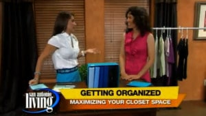 SA Living Organized Closet-How to organize your closet