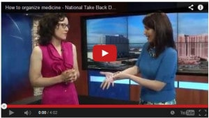 Organize Meds - National Take Back Day - Fox 29