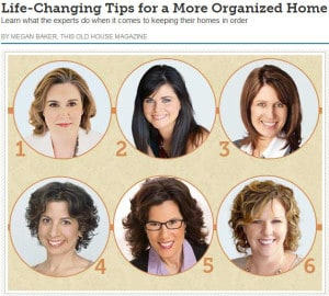 This Old House Magazine - Jan Feb 2015 - Life Changing Tips for a More Organized Home